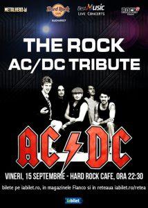 Concert Tribut AC/DC cu THE R.O.C.K. la Hard Rock Cafe