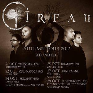 Irfan va susține două concerte în țară, la Timișoara și Cluj-Napoca