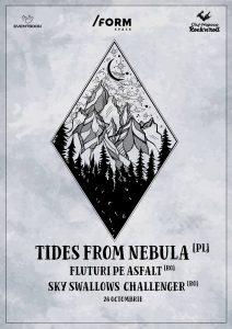 Tides From Nebula vor concerta în Cluj-Napoca și București