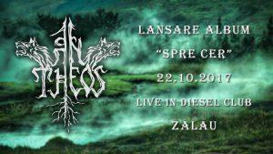 """An Theos continuă promovarea albumului """"Spre Cer"""" cu concerte în Zalău, Budapesta, Cluj-Napoca, Sibiu, Târgu Jiu și Constanța"""
