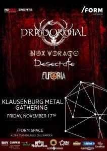 Astăzi este ultima zi de presale pentru concertul Primordial de la Cluj-Napoca