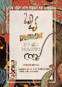 White Walls concertează alături de Breathelast, W3 4R3 NUM83R5, COD și Adi Tăbăcaru / 25 noiembrie / club Fabrica