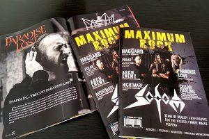A apărut al doilea număr al revistei Maximum Rock