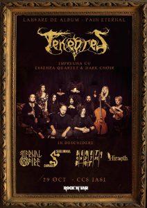 """Tenebres lansează albumul """"Pain Eternal"""" și pornesc într-un turneu național"""