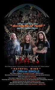 HateviruS lansează un al doilea single, prezentat cu ajutorul unui lyric video ce dezvăluie artworkul albumului de debut