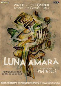 Concert şi lansare de videoclip Luna Amară