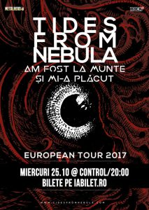Am Fost La Munte şi Mi-a Plăcut vor cânta cu Tides From Nebula la Club Control din Bucureşti