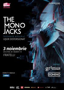"""The Mono Jacks lansează albumul """"Ușor distorsionat"""" pe 3 noiembrie la București"""