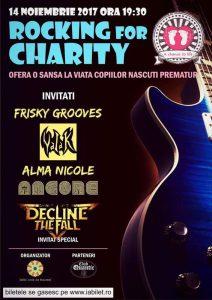 """Quantic te invită pe 14 Noiembrie, la """"Rocking for Charity"""", un eveniment caritabil dedicat copiilor născuţi prematur."""