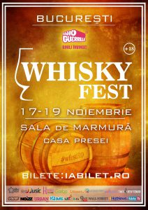 Whisky Fest 2017: program și reguli de acces