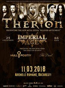 The Devil, noua trupă confirmată să cânte alături de Therion la Arenele Romane