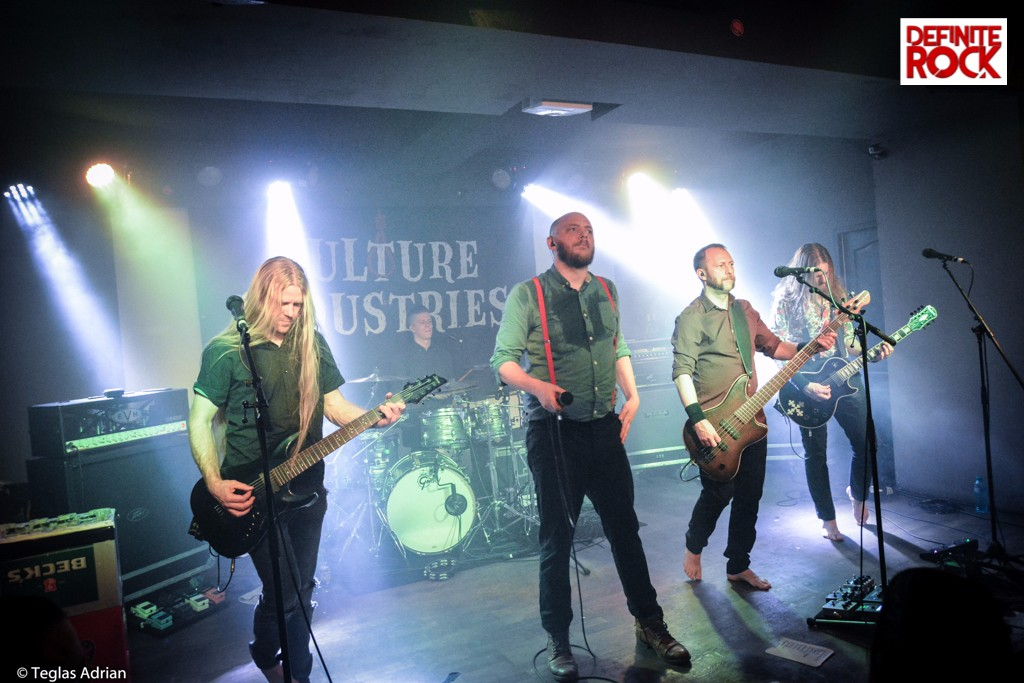 Vulture Industries @ Flying Circus, Cluj-Napoca – 15 noiembrie 2017