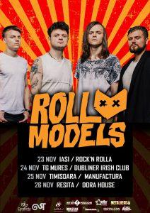 ROLL MODELS, headlinerii de pe scena Dublin a festivalului Rock'N Iași, se întorc în România pentru un mini-turneu în 4 orașe