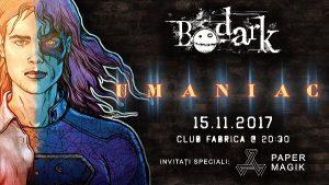 """Bodark lansează albumul """"Umaniac"""""""