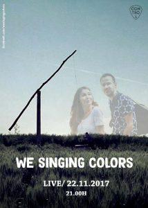 We Singing Colors cântă în Control pe 22 noiembrie