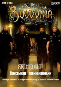 Stonelight cântă alături de Bucovina pe 9 decembrie la Arenele Romane