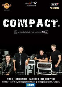 Concert COMPACT la Hard Rock Cafe