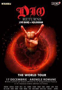 """Tim """"Ripper"""" Owens vine cu Dio Disciples și Holograma lui Dio la București pe 17 decembrie"""