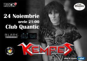 Kempes cântă pe 24 noiembrie în Quantic