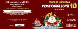 Pe 13 Decembrie, Quantic te invită la un concert umanitar de Crăciun!