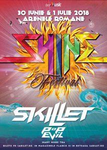SKILLET și Pop Evil confirmate pentru Shine Festival 2018