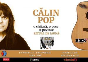 Călin Pop va concerta Duminică în Hard Club Cluj-Napoca