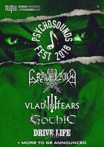 Psychosounds Fest 2018 – bilete și un nou headliner
