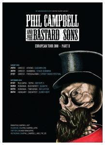 PHIL CAMPBELL, fostul chitarist Motörhead, concertează în Bucuresti
