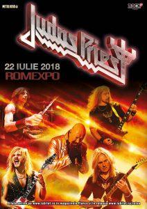 """Judas Priest – """"Firepower"""" la București, pe 22 iulie la Romexpo"""