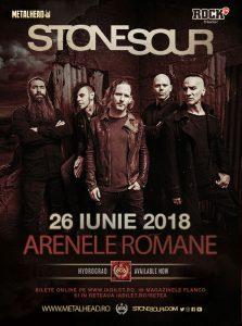 STONE SOUR în concert la București