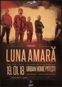 Luna Amară ajunge în premieră la Urban Home Pitești și Cult Music Club Craiova