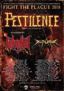 Pestilence concertează în premieră în România, la Cluj-Napoca şi la Bucureşti