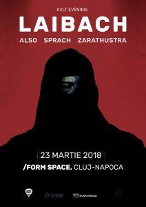 Laibach vor reveni în Cluj-Napoca la sfârşitul lunii Martie
