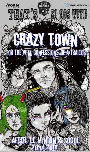 Crazy Town vor concerta în week-end-ul viitor în Cluj-Napoca, Bucureşti şi Iaşi