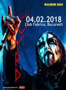 Gaahls WYRD concertează la București pe 4 februarie 2018