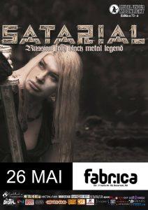 Satarial – cea mai controversată formație de black metal din Rusia, în concert la București