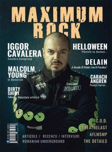 A apărut cel de-al treilea număr al revistei Maximum Rock