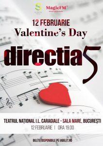 """Direcția 5 serbează """"Valentine's Day"""" 4 zile și 4 nopți"""
