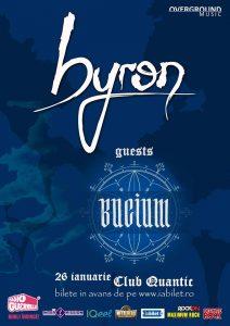 Concert byron în Quantic; invitați speciali – Bucium