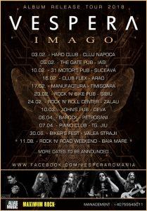 """Vespera anunță datele turneului """"Imago"""" (partea I)"""
