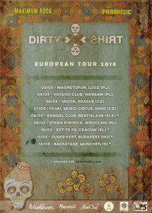"""Dirty Shirt a lansat albumul live """"FolkCore DeTour"""". Turneu european, în luna martie"""