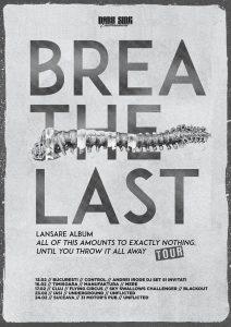 Breathelast lansează primul album full length, în București și în țară
