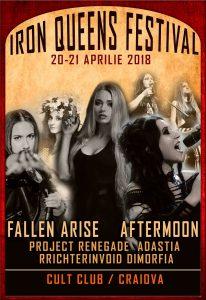 Iron Queens Festival la Craiova pe 20 și 21 aprilie în Cult Club