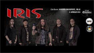 Pe 21 aprilie, Iris revine în Quantic pentru un nou concert cu un concept unic – Poveste fără sfârșit