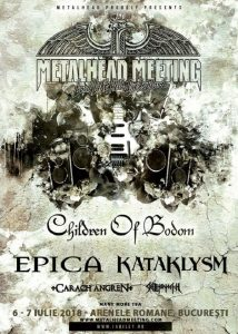 EPICA, KATAKLYSM, CARRACH ANGREN și SKELETONWITCH confirmate la Metalhead Meeting Festival 2018