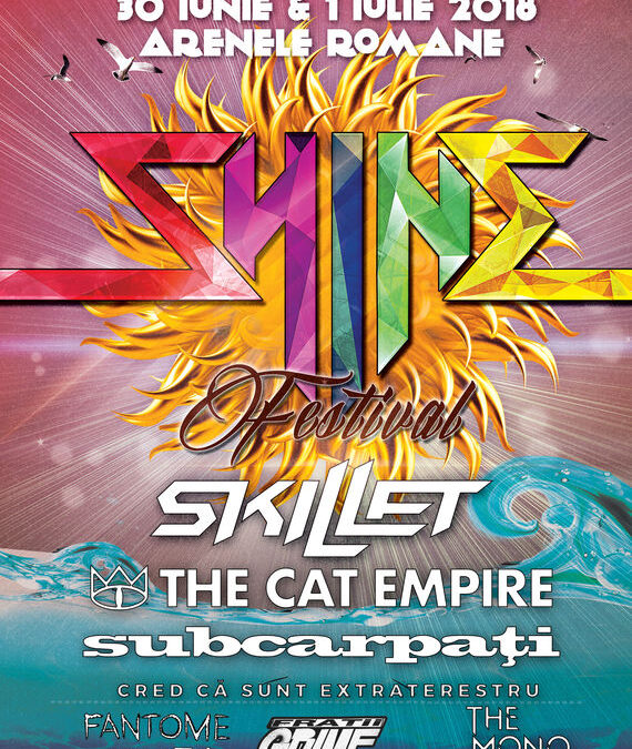 The Cat Empire,  Subcarpați, Frații Grime, The Mono Jacks și mulți alții confirmați la Shine Festival 2018