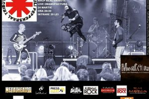 Red Hot Chili Peppers Real Tribute LIVE în Timișoara