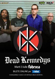 Concert Dead Kennedys în premieră în România!
