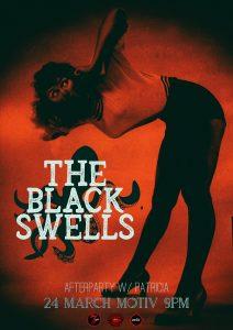 Psychedelicious prezintă: The Black Swells, pe 24 martie @ Motiv