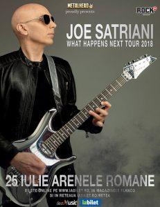 Concert Joe Satriani la București pe 25 iulie